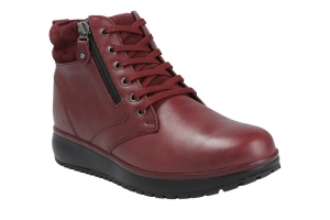 Wilma II Dark Red in Stiefel Bild1