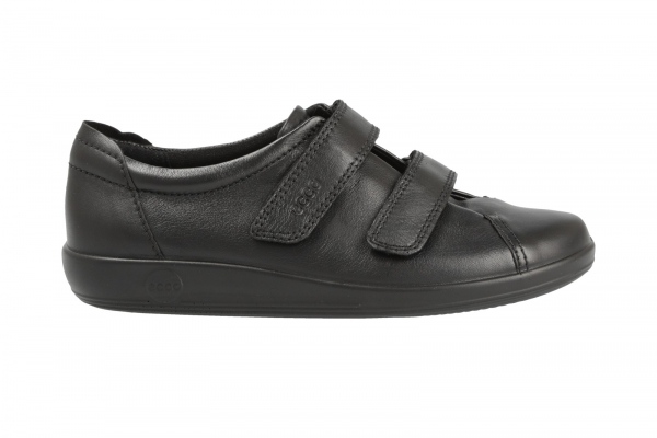 ECCO Soft Black in Slipper