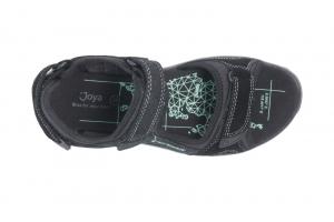 Komodo Black in Sandaletten Bild2