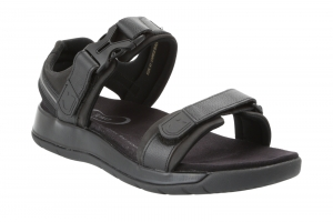 Capri III Black in Sandaletten
