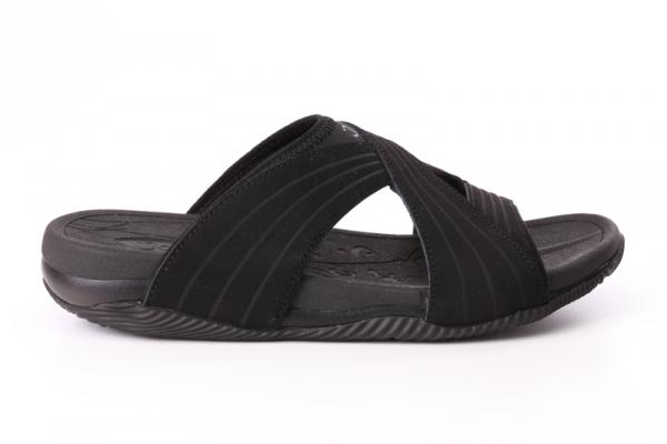 Joya Bali Black in Pantoletten