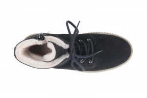 Lammfell Stiefel in Stiefel gefüttert Bild2