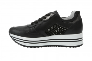 Plateau Sneaker in Schnürer Bild5