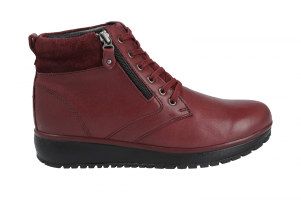 Joya Wilma II Dark Red in Stiefel