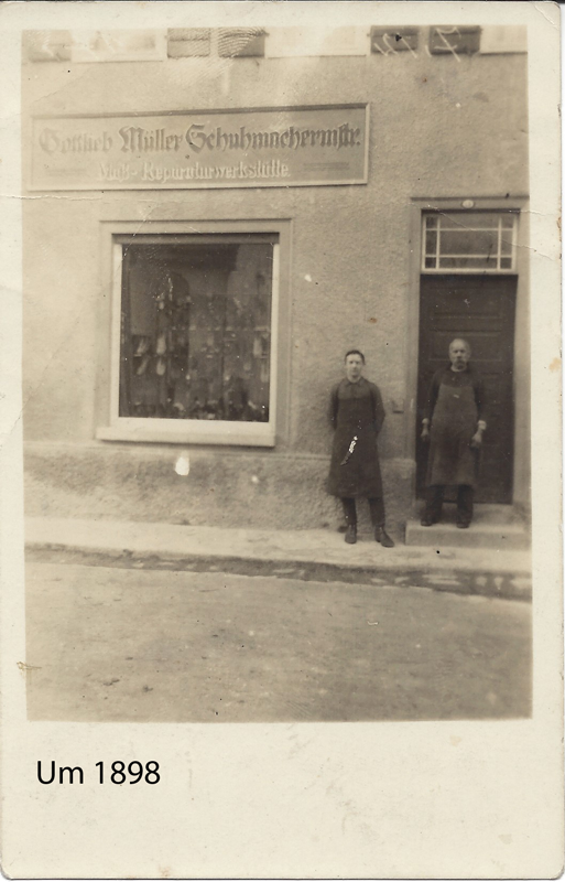 1898 Frontansicht Schuh Sommer