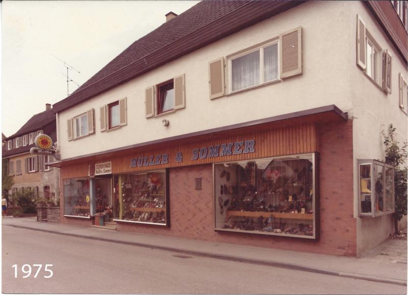 Nach umfangreichen renovierungen um 1975