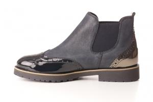Ankle-Boots in Stiefel ungefüttert Bild1